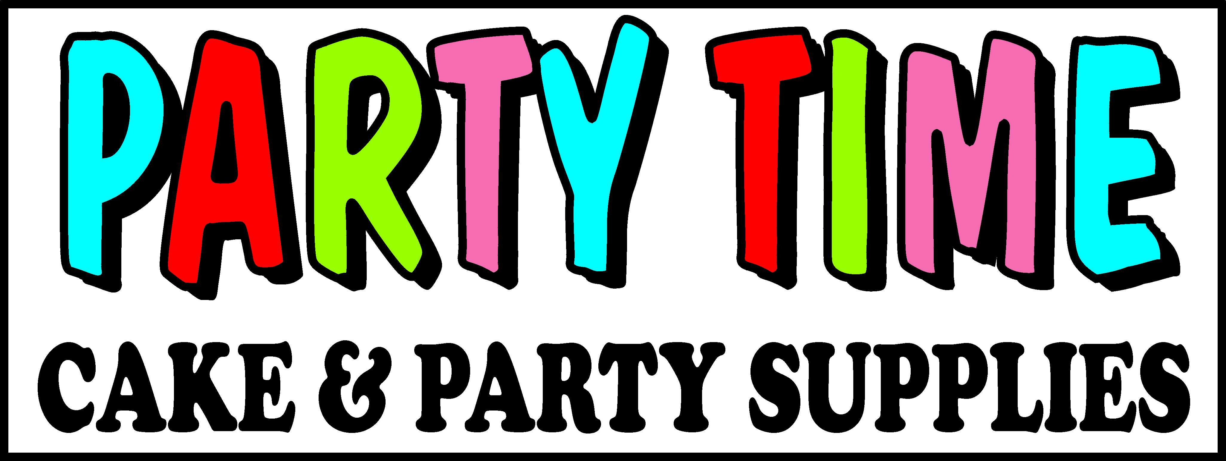 Party Time Cake & Party Supplies